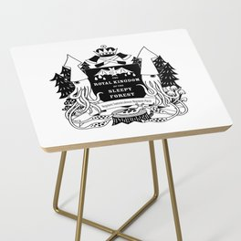 The Royal Kingdom of the Sleepy Forest Side Table