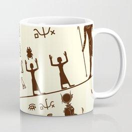 Ancient Egyptian Pattern Decoration Coffee Mug