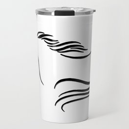 Swift Mare Stylized Inking Travel Mug