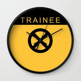 Trainee X Force Wall Clock