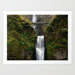Multnomah Bridge Art Print
