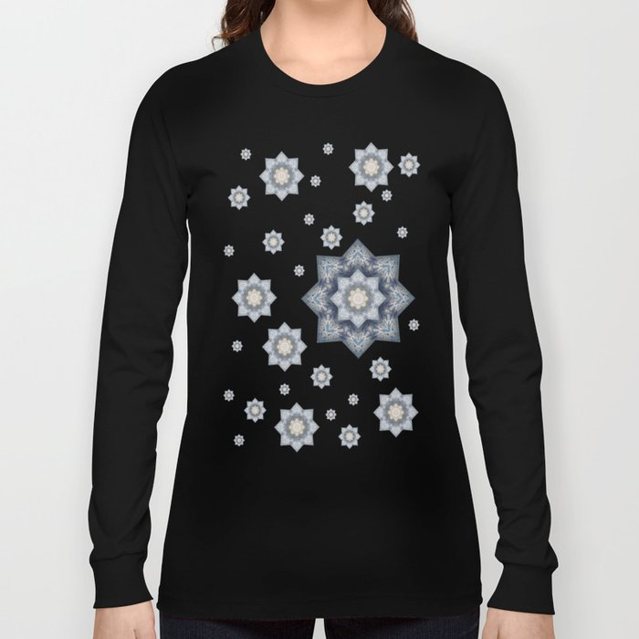 Snowflakes 2 Long Sleeve T-shirt