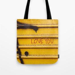 Love You, New York Tote Bag