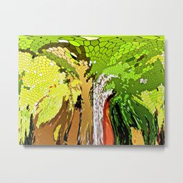 The Story of a Tree Metal Print