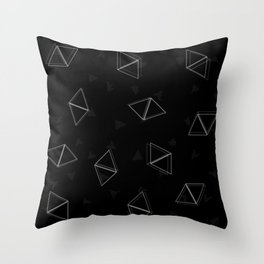 Shapes and blots Throw Pillow