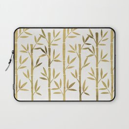 Bamboo Stems – Gold Palette Laptop Sleeve