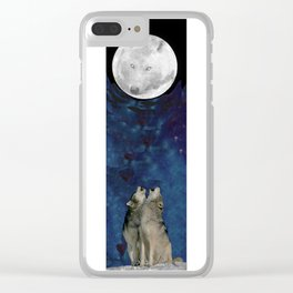 Song to the moon Clear iPhone Case