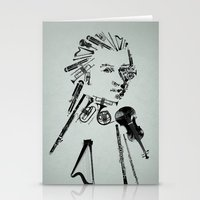 mozart Stationery Cards featuring Wolfgang Amadeus Mozart by bananabread