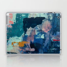 The Peace of Wild Things: a vibrant abstract piece in a variety of colors by Alyssa Hamilton Art Laptop & iPad Skin
