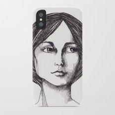 In Waiting iPhone X Slim Case