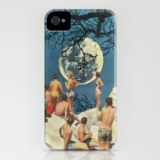 Moon iPhone (4, 4s) Slim Case