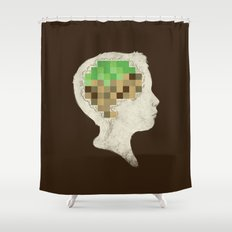 Mind Crafted Shower Curtain