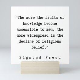 28  |   Sigmund Freud Quotes | 190926 Mini Art Print