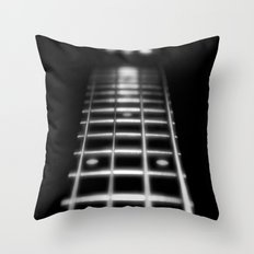 Guitar Fret Throw Pillow