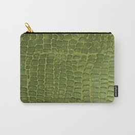 Alligator Skin Carry-All Pouch
