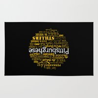 steelers Area & Throw Rugs featuring Pittsburghese by Henderson GDI