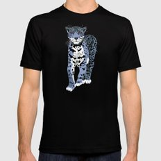 Midnight Jaguar Mens Fitted Tee Black MEDIUM
