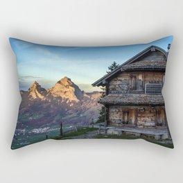 Swiss Hut Rectangular Pillow