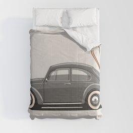 Legendary Classic Ski Bug Vintage Retro Cool German Car Wall Art and T-Shirts Comforters