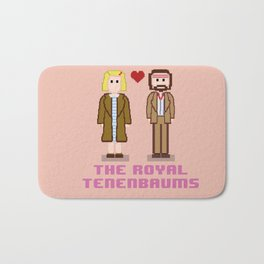 Margot and Richie Tenenbaum 8 bits Bath Mat