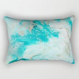 "Tides of Change | ""Sand Bar"" (1) Rectangular Pillow"