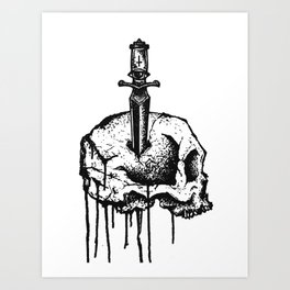 Unknown Pleasure 2 Art Print
