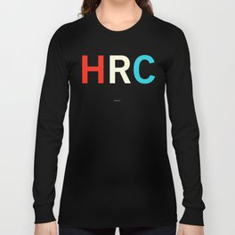 HILLARY RODHAM CLINTON Long Sleeve T-shirt