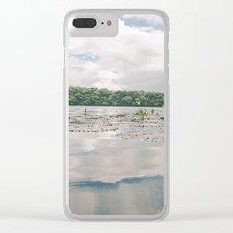 flor de loto Clear iPhone Case