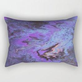 Sweetness 0009- Iridescent Fluid Painting Rectangular Pillow