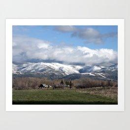 Montana Neighbors 2 Art Print