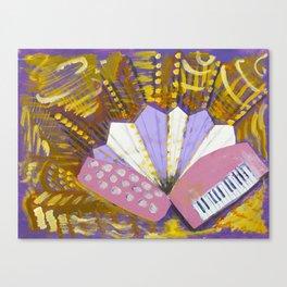 The Accordion Canvas Print