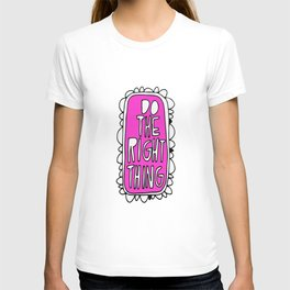 Rule #1: Pink T-shirt