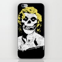misfits iPhone & iPod Skins featuring Misfits Monroe by AtomicChild