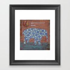 Elephant Dreams Framed Art Print