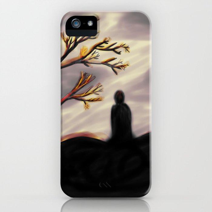 Dark Forest Scene iPhone Case