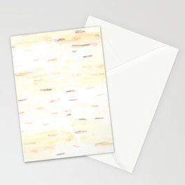 Birch Bark Watercolor Stationery Cards