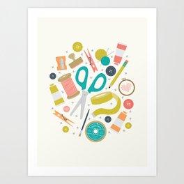 Get Crafty Art Print