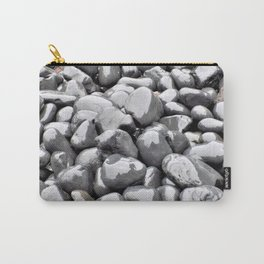 Gray Water Rocks Carry-All Pouch