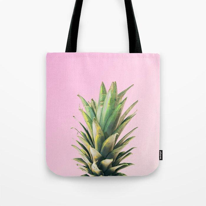 Pineapple Pink Tote Bag