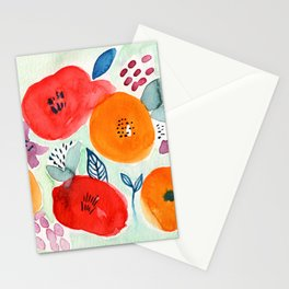 Abstract Garden No. 1 Stationery Cards