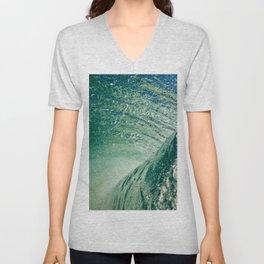 Under Ocean Wave Unisex V-Neck