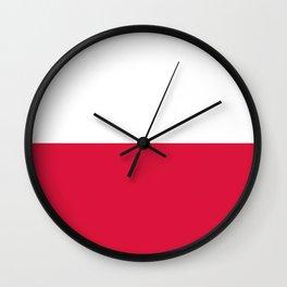 Flag of Poland - Polish Flag Wall Clock