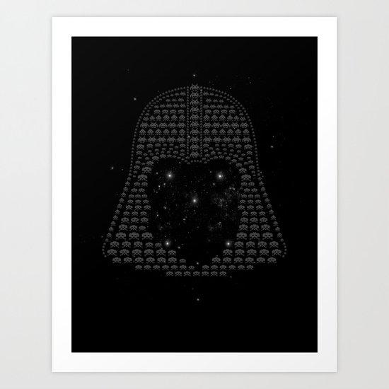 Space In Vaders Art Print