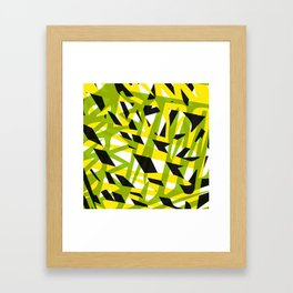 structure camouflage Framed Art Print