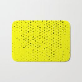 capricorn zodiac sign pattern yb Bath Mat