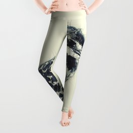 Pied kingfisher Leggings