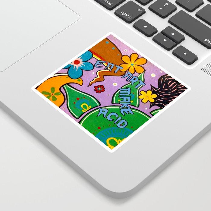 eat art Sticker