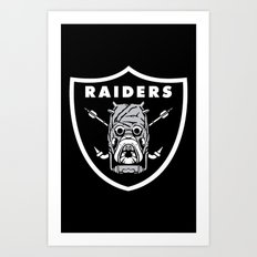 Raiders Art Print