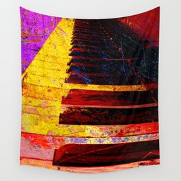 Piano art 6 Wall Tapestry