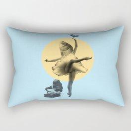 Ballerina Fish Rectangular Pillow